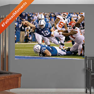 Andrew Luck - AFC Wild Card Comeback Mural Fathead Wall Decal